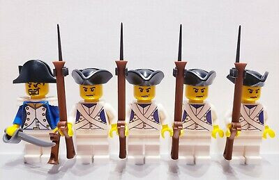 Lego PIRATES NAPOLEONIC WARS FRENCH Fusilier Infantry Soldiers MINIFIGS