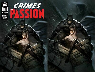 Crimes of Passion #1 Exclusive Ryan Brown Cover Set Trade and Virgin
