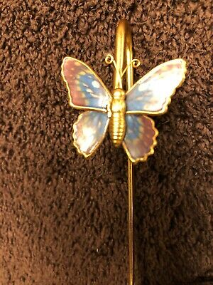 Vintage Butterfly Bookmark Gold-Toned