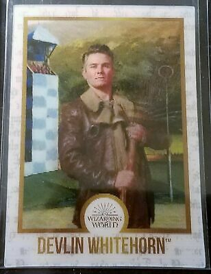 Harry Potter Chocolate Frog Wizard Card Devlin Whitehorn pack fresh