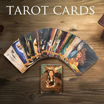 55pcs Tarot Cards Angels and Ancestors Oracle Cards Magic Deck Future Telling