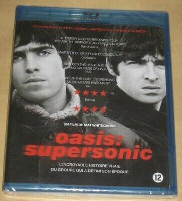 "New Film - Documentaire Blu-ray Disc ""OASIS : Supersonic"" [NEUF SOUS CELLO!!!]"