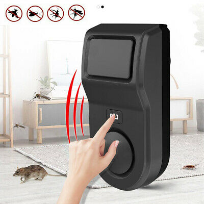 Ultrasonic Pest Repeller Plug in Electronic Repellent Rat Mouse Spider Insect
