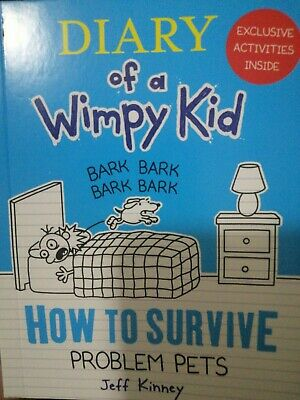 Diary Of A Wimpy Kid,How To Survive Problem Pets ,McDonald's Happy Meal Toy Book