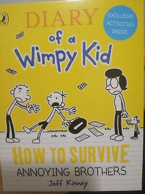 Diary Of A Wimpy Kid,How To Survive Annoying Brothers,McDonald's Happy Meal Toy