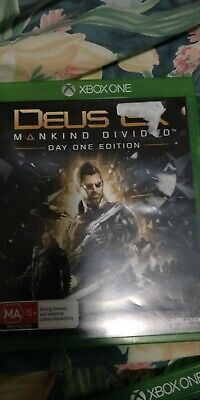 MICROSOFT XBOX ONE GAME DEUS EX MANKIND DIVIDED - Free Shipping