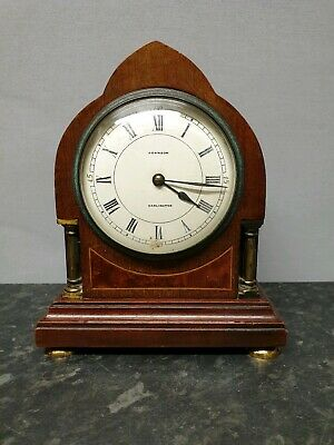 Vintage 8 Day Mantle Clock with Platform Escapement - Johnson, Darlington