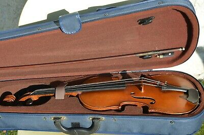 Old French violin 1900's BERNARDEL - Paris with case and bow