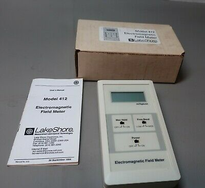 Lakeshore Model 412 Electromagnetic Field Meter with Manual