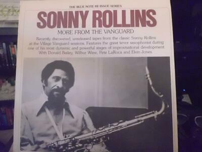 Sonny Rollins - More From The Vanguard 2xLP - Blue Note Mono First Pressing 1975