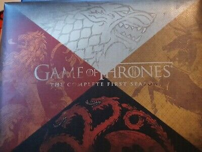 Game of thrones season 1 Bluray With Limited Edition Dragon Egg