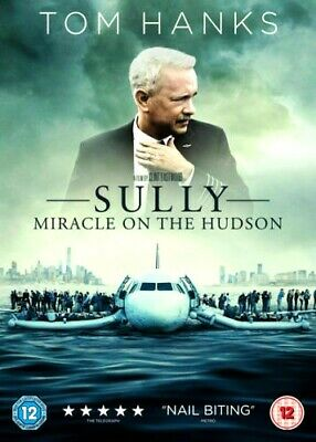 Sully - Miracle On the Hudson (DVD-2017,1-Disc)R2. Includes DVD+DIGITAL DOWNLOAD