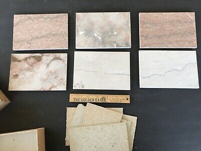Sample Box Pieces Appalachian Marble Knoxville Tennessee Old