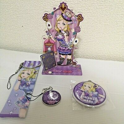 T1470 Anime Love Live acrylic Keychain Key Ring straps Rare cosplay A