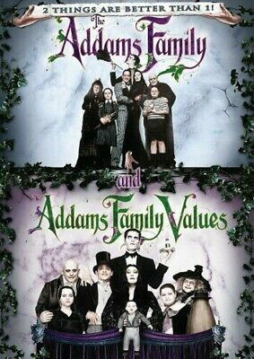 The Addams Family/Addams Family Values (DVD-2006,1-Disc) Region 1. 193 Mins**
