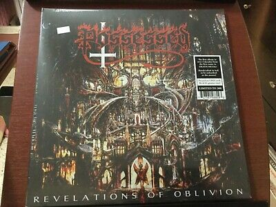 Possessed Revelations of Oblivion Ltde. Grey & Black Vinyl 300 Copies! Vinyl Lp