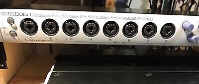PreSonus Digimax FS 8-Ch Mic Preamp ADAT Converter with cables - Excellent!