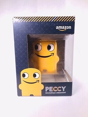 Amazon Employee Only Peccy Decoupage Ornament in Original Box