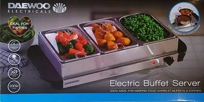 Daewoo Electric Buffet Server 200W