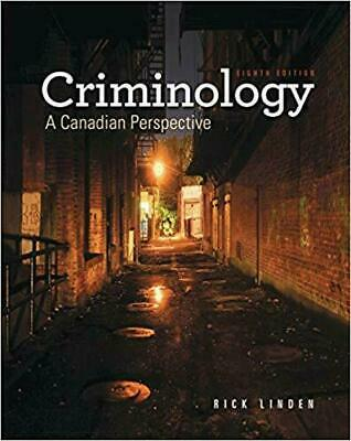 Criminology: A Canadian Perspective, 8th edition by Rick Linden - EBOOK/PDF