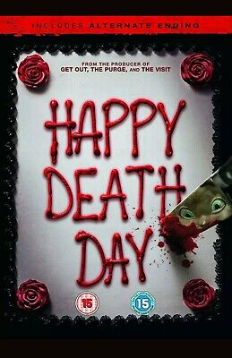 Happy Death Day  [2017] [DVD]