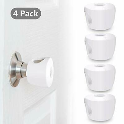 Door Knob Safety Cover (4 Pack) Child Proof Doors - Child Safety Covers for