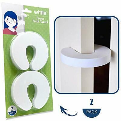 Wittle Finger Pinch Guard - 2pk. Child Proofing Doors Made Easy with Soft Yet