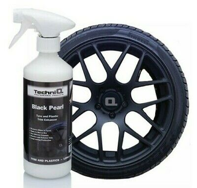 Bumper Plastic Rubber Car Exterior Trim Restorer Black Tyre Dressing Shine 500ml