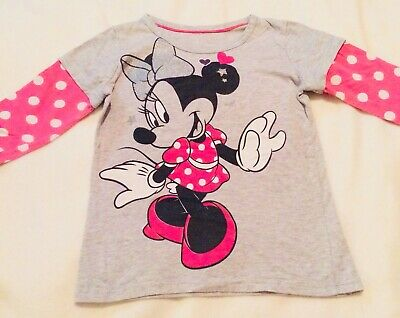 Disney Minnie Mouse Top Age 5-6 Years