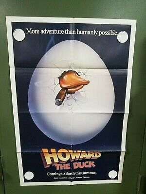1986 Howard the Duck Tin Litho Pin by Marvel Comics Approx 1/""