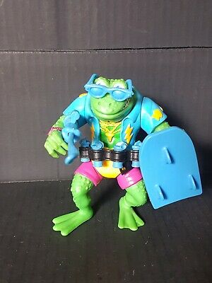 1989 Ghengis Frog Vintage Teenage Mutant Ninja Turtles TMNT 100% complete