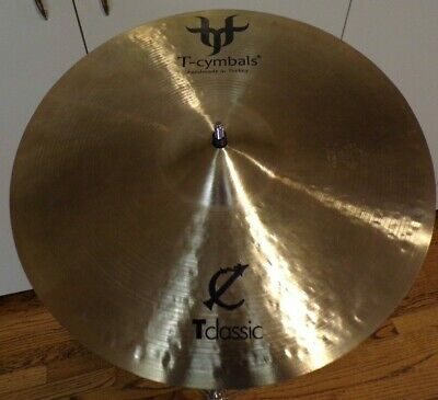 ": T-Cymbal Classic 16"" medium crash cymbal"