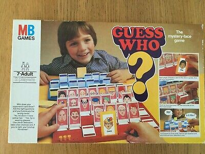 Guess Who Vintage Classic Board Game 1979 Edition MB Games Complete & perfect