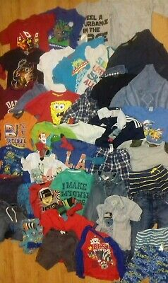 Boys Large Clothes Bundle 3-5 years - Over 40 items - See description