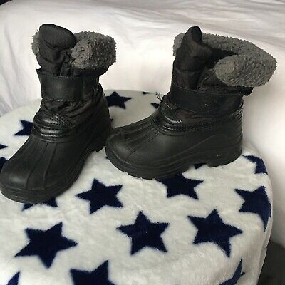 Toddler Thinsulate Snow Boots Size 7-8