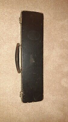 Rare Rudall Carte Boehm System Closed Hole Flute With Fixed C-foot