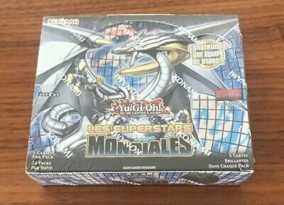 Yu-Gi-Oh! BOITE DE 24 BOOSTERS : LES SUPERSTARS MONDIALES