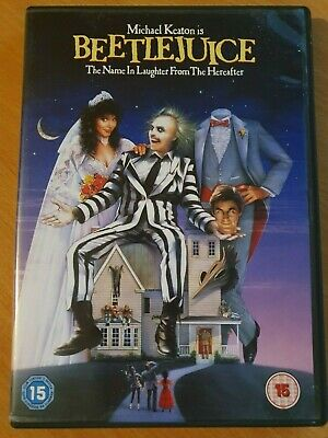 Classic DVD - Beetlejuice (1988 Fantasy Horror Michael Keaton) VGC UK Region 2