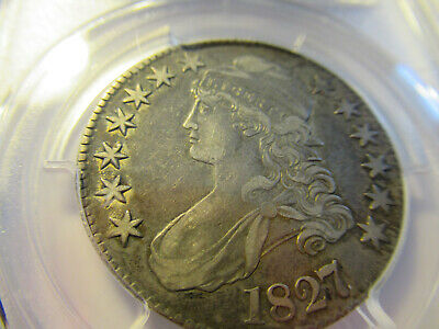 1827 Capped Bust Half Dollar -PCGS XF40 FREE SHIPPING