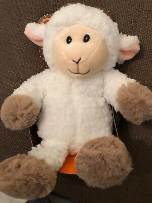 Aroma Home Microwaveable 29 cm Lamb Cozy Hottie - Super Soft Fabrics Toy NEW