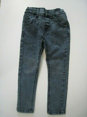 "Next Boys ""Cool Little Dude"" Smart Jeans Trousers - 2-3 Years - Elasticated"