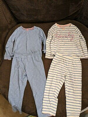 Mothercare Girls patterned Pjs Pyjamas Age 3-4 Years 2 sets