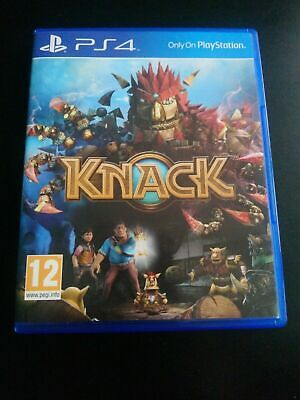 Knack for the Sony Playstation 4 PS4 - Mint Condition - Free P&P