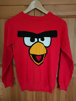 Angry Birds Jumper Red Next Age 9 Years Height 134 cm
