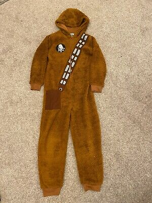 Star Wars Chewbacca Chewie All-in-One Onesie (Not Gerber) Age 9 - 10 years