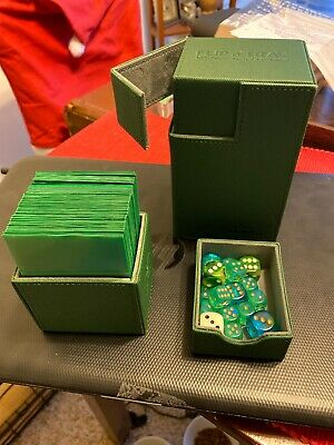 Ultimate Guard Flip 'n' Tray 80+ (w Sleeves And Dice)