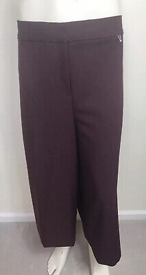 Lane Bryant Shorts Plus Sz Black Wide Leg Cropped Pants Gaucho Culotte Dressy 24