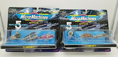 Babylon 5 Five Micro Machines Set 1 2 5 6 Factory Sealed New VG