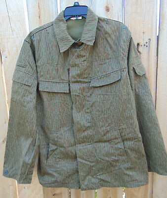 1960's East German Rain Camo Jacket U.S.Size L/R, M52 very good used condition