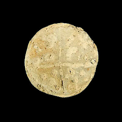 A Bactrian conical clay seal. e3051